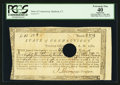 Colonial Notes:Connecticut, Connecticut Fiscal Paper Treasury Office June 1, 1782 PCGS ApparentExtremely Fine 40.. ...