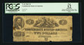 Confederate Notes:1862 Issues, Gutter Fold T42 $2 1862.. ...