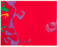 Prints, PATRICK HERON (British, 1920-1999). Morning Red, 1979. Etching and aquatint. 22-3/4 x 28 inches (57.8 x 71.1 cm) (image)...