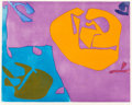Post-War & Contemporary:Contemporary, PATRICK HERON (British, 1920-1999). Night Violet, 1980.Etching and aquatint. 22-1/2 x 28 inches (57.2 x 71.1 cm) (sight...