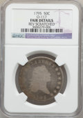 Early Half Dollars, 1795 50C 2 Leaves -- Reverse Scratched -- NGC Details. Fair. O-117.NGC Census: (3/903). PCGS Population (7/1409). Mintage:...