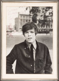 Music Memorabilia:Autographs and Signed Items, Herman's Hermits - Peter Noone Autographed Poster....