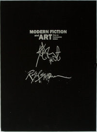 Ralph Steadman and Kurt Vonnegut. SIGNED/LIMITED. Modern Fiction and Art: Prints by Contemporary Authors.</