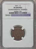 Indian Cents: , 1877 1C -- Environmental Damage -- NGC Details. AG. NGC Census:(0/3782). PCGS Population (330/3189). Mintage: 852,500. ...