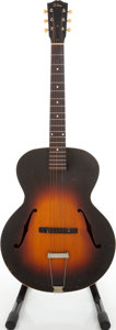 Musical Instruments:Acoustic Guitars, 1936 Gibson L-50 Sunburst Archtop Acoustic Guitar, Factory Order Number 637-B-16. ...