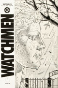 "Original Comic Art:Covers, Dave Gibbons Watchmen #2 ""Cemetery"" Cover Original Art (DC,1986)...."