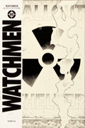 "Original Comic Art:Covers, Dave Gibbons Watchmen #3 ""Trefoil Fallout Shelter Symbol""Cover Original Art (DC, 1986)...."