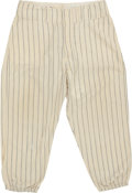 Baseball Collectibles:Uniforms, 1961 Roger Maris 61st Home Run Game Worn New York Yankees Pants....