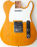 Musical Instruments:Electric Guitars, 1990s Fender Squire Telecaster Butterscotch Blonde Loaded ElectricGuitar Body....