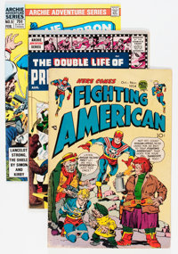 Silver Age Superhero Comics Group (Various Publishers, 1960s) Condition: Average VG