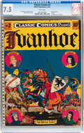 Golden Age (1938-1955):Classics Illustrated, Classic Comics #2 Ivanhoe - Original Edition (Elliott, 1941) CGCVF- 7.5 White pages....