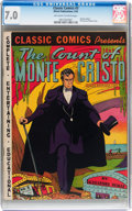 Golden Age (1938-1955):Classics Illustrated, Classic Comics #3 The Count of Monte Cristo - Original Edition(Gilberton, 1942) CGC FN/VF 7.0 Off-white to white pages....