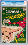 Silver Age (1956-1969):Superhero, Showcase #8 The Flash (DC, 1957) CGC FN 6.0 Cream to off-whitepages....