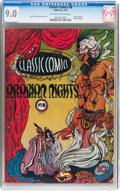 Golden Age (1938-1955):Classics Illustrated, Classic Comics #8 Arabian Nights - Original Edition (Gilberton, 1943) CGC VF/NM 9.0 Off-white to white pages....