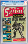 Silver Age (1956-1969):Superhero, Tales of Suspense #39 (Marvel, 1963) CGC VF 8.0 White pages....