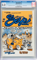 Silver Age (1956-1969):Alternative/Underground, Zap Comix #1 (First Printing - Plymell) (Apex Novelties, 1967) CGCVF 8.0 Off-white to white pages....