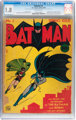 Batman #1 (DC, 1940) CGC GD- 1.8 Off-white pages