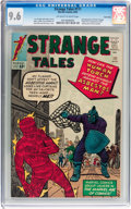 Silver Age (1956-1969):Superhero, Strange Tales #111 Twin Cities pedigree (Marvel, 1963) CGC NM+ 9.6Off-white to white pages....