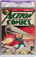 Golden Age (1938-1955):Superhero, Action Comics #19 (DC, 1939) CGC Apparent GD/VG 3.0 Slight (A) Cream to off-white pages....