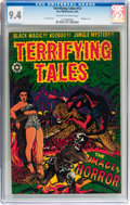 Golden Age (1938-1955):Horror, Terrifying Tales #12 (Star Publications, 1953) CGC NM 9.4 Off-whiteto white pages....
