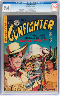 Gunfighter #12 (EC, 1949) CGC NM 9.4 Off-white to white pages