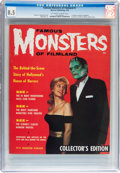 Magazines:Horror, Famous Monsters of Filmland #1 (Warren, 1958) CGC VF+ 8.5 Off-white to white pages....