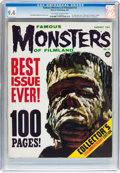 Magazines:Horror, Famous Monsters of Filmland #13 (Warren, 1961) CGC NM 9.4 Off-white to white pages....