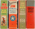Big Little Book:Miscellaneous, Big Little Book Westerns Group (Whitman, 1935-40) Condition:Average VF+.... (Total: 4 Items)
