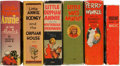 Big Little Book:Miscellaneous, Big Little Book Humor Group (Whitman, 1933-38) Condition: AverageFN/VF.... (Total: 6 Items)