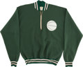 Basketball Collectibles:Uniforms, 1975 Brian Winters Game Worn Milwaukee Bucks Warm-Up Suit....