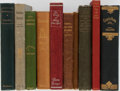 Books:Literature Pre-1900, Booth Tarkington, Richard Burton and others. Ten Modern FirstEditions. Very good or better.... (Total: 10 Items)