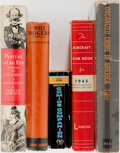 Books:Biography & Memoir, Will Rogers and Others. Five Modern Books. Good or better....(Total: 5 Items)