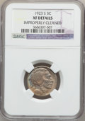 Buffalo Nickels: , 1923-S 5C -- Improperly Cleaned -- NGC Details. XF. NGC Census:(35/791). PCGS Population (70/1020). Mintage: 6,142,000. Nu...