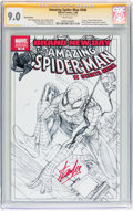 Modern Age (1980-Present):Superhero, The Amazing Spider-Man #546 Sketch Edition - Signed by Stan Lee(Marvel, 2008) CGC Signature Series VF/NM 9.0 White pages....