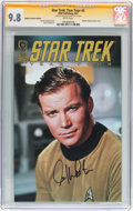 Modern Age (1980-Present):Science Fiction, Star Trek: Year Four #2 Retailer Incentive Edition - Signed byWilliam Shatner (IDW Publishing, 2007) CGC Signature Series NM/...