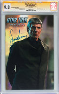 Modern Age (1980-Present):Science Fiction, Star Trek: Nero #1 Fan Expo Canada Edition - Signed by LeonardNimoy (IDW Publishing, 2009) CGC Signature Series NM/MT 9.8 Whi...