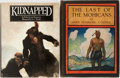 Books:Literature 1900-up, N. C. Wyeth, illustrator. Two Works Illustrated by Wyeth. TheLast of the Mohicans is a first illustrated edition. Minor...(Total: 2 Items)