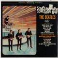 Music Memorabilia:Recordings, Beatles Something New Sealed Stereo LP (Capitol ST 2108,1964). ...