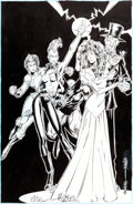 Original Comic Art:Covers, Joe Madureira and Dan Panosian X-Men Classic #83 Cover Original Art(Marvel, 1993)....