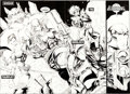 Original Comic Art:Panel Pages, Karl Altstaetter and Norm Rapmund Bloodstrike #19 Pages 20and 21 Original Art (Image, 1995).... (Total: 2 Items)