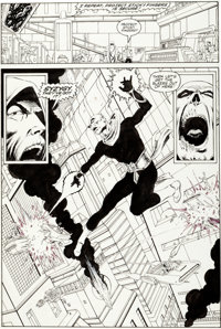 Jim Starlin and Paul Abrams Dreadstar and Company #3 Page 16 Original Art (Marvel, 1985)