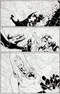 Original Comic Art:Panel Pages, Steve McNiven and Dexter Vines Civil War #4 Page 10 OriginalArt (Marvel, 2006)....