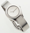 Luxury Accessories:Accessories, Gucci Stainless Steel 6700L Watch with Buckle Clasp. ...