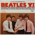 Music Memorabilia:Recordings, Beatles VI Sealed Stereo LP (Capitol ST 2358, 1965)....