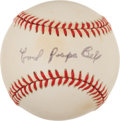Baseball Collectibles:Balls, Cool Papa Bell Single Signed Baseball. ...
