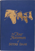 Football Collectibles:Publications, 1959 The Four Horsemen of Notre Dame Signed Book With Extras. ...