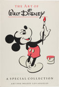Movie/TV Memorabilia:Posters, The Art of Walt Disney Mickey Mouse Event Poster (Art One, c. 1980s)...