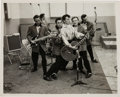 Music Memorabilia:Photos, Gene Vincent and His Blue Caps Vintage Photo....