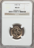 Buffalo Nickels: , 1930 5C MS65 NGC. NGC Census: (410/94). PCGS Population (1018/358).Mintage: 22,849,000. Numismedia Wsl. Price for problem ...