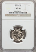 Buffalo Nickels: , 1926 5C MS64 NGC. NGC Census: (478/679). PCGS Population(924/1334). Mintage: 44,693,000. Numismedia Wsl. Price forproblem...